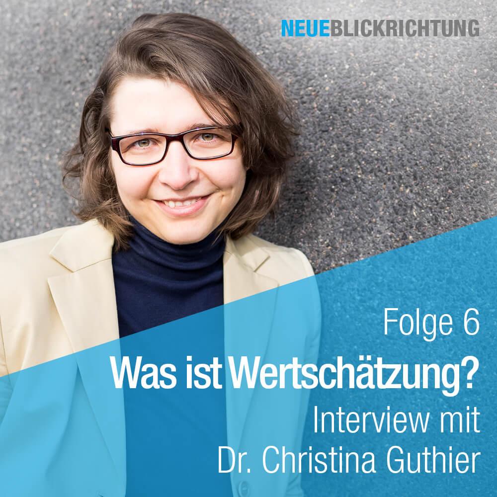 Dr. Christina Guthier Podcast Cover