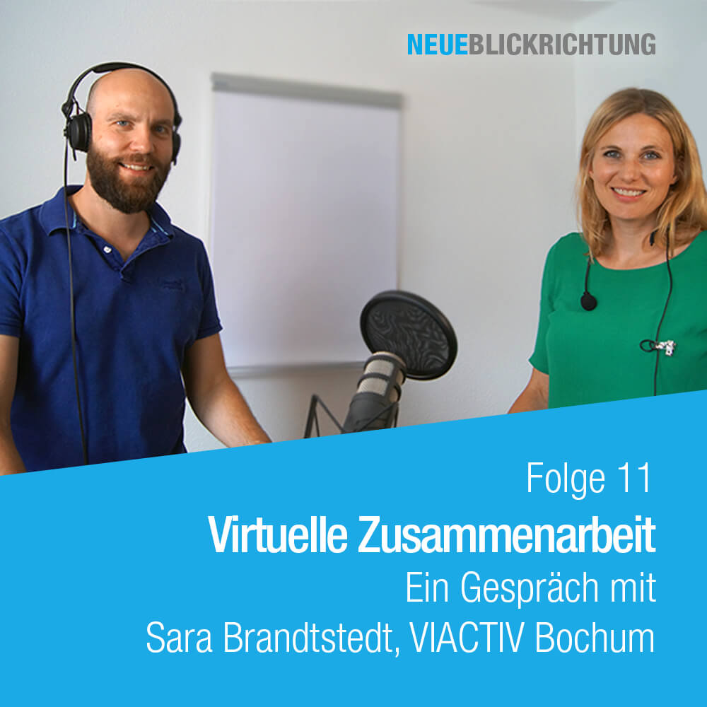 Sara Brandstedt virtuelle Zusammenarbeit Episode 11 Cover
